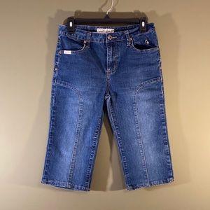 Baby Phat Jean Co Capri denim jeans 9